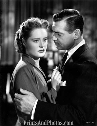 Clark GABLE & Alexis Smith Movie  3932