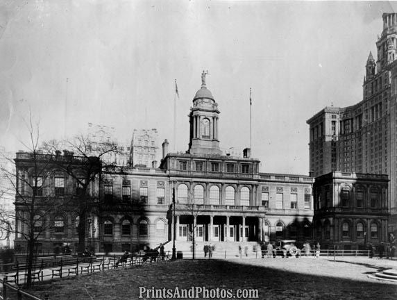 New York City Hall 1920s  3983