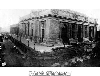 NYC Grand Central Station 1900s  3987