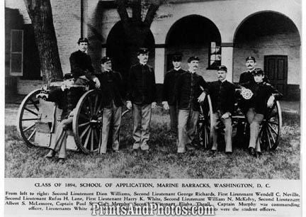 Marines Barracks Class of 1894  4014
