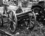 Marines WWII Japan Artillery Captured 4027