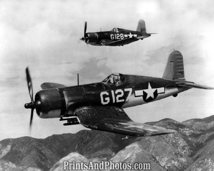 Marines F4 U1 2 Corsair Aircrafts  4069
