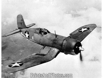 US Marines F4 U1 Corsair Aircraft  4070