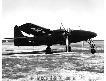 US Marines F7F Tigercat Fighter  4109