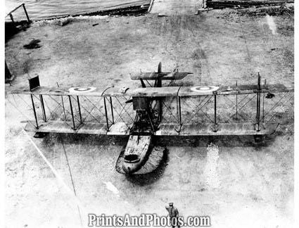 US Marines WWI Flying Boat Haiti  4113