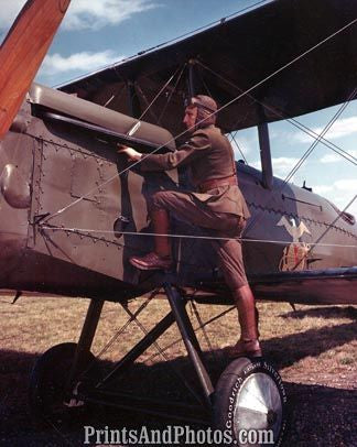 US Marines WW1 Aviator w/ Plane  4153