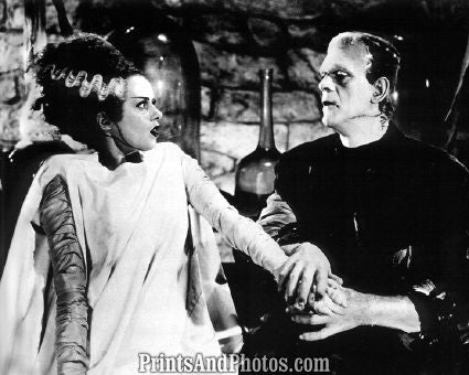 Bride of Frankenstein Karloff  4255