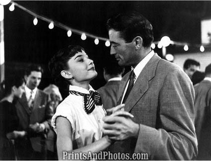 Roman Holiday Hepburn Peck  4296