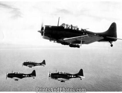 Marines Dive Bombers in Rabual  4368