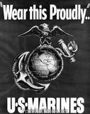 Marines Wear This Proudly Emblem  4380