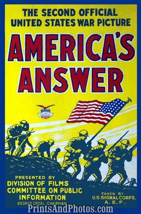 Americas Answer War Picture  4405