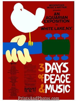 Woodstock 3 Days Peace & Music  4406