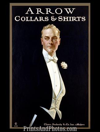 Early Arrow Mens Collar Shirts Ad 4408