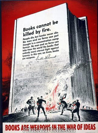 Books Are Weapons in War on Ideas  4420