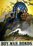 WW II Buy War Bonds  Print 4424