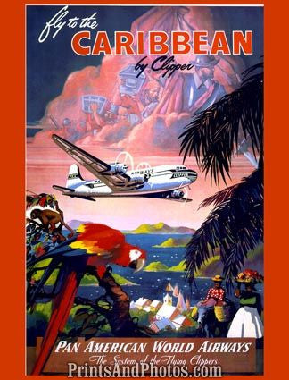 Pan Am Airways Travel Adv  4440