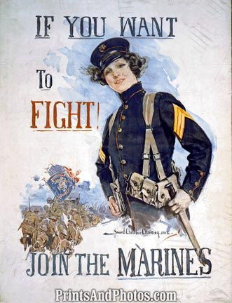 Fight! Join the Marines  4456