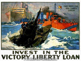 Invest in the Victory Liberty Loan Ad 4457