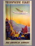 Pan Am Transpacific Flight Ad 4500