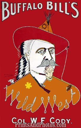 Buffalo Bill Cody  Print 4516