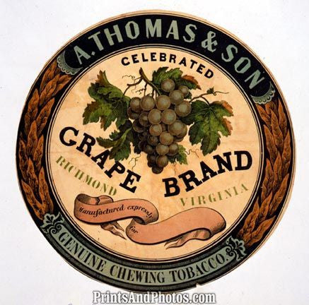 A.Thomas & Son Chewing Tobacco Ad 4525
