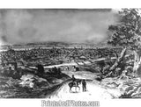 Cincinnati OHIO in 1841 Print  4573