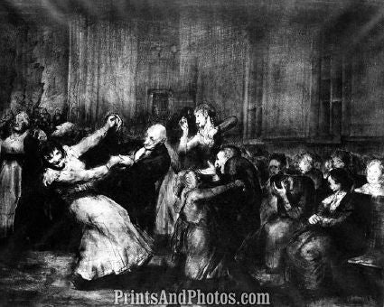 Dance in Mad House George Bellows  4584