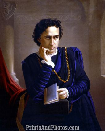 Edwin Booth as Hamlet  4594