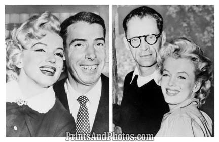Marilyn Monroe Husbands DiMaggio  4619