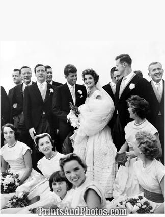 Jackie Bouvier Kennedy Wedding  4626