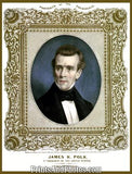 James K Polk 11th President  4628