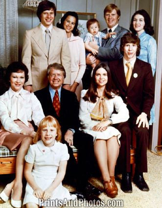 President Jimmy Carter & Family  4635