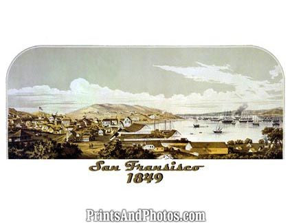 San Francisco California 1849  4678