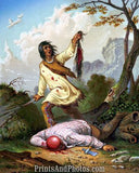 Death Cry Native American Scalping  4688