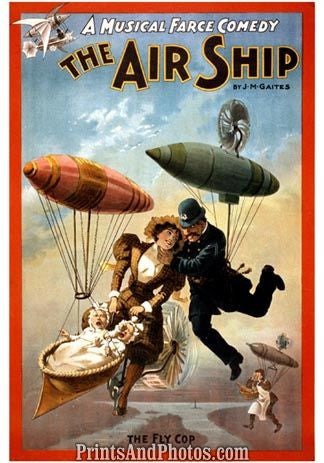 The Airship Musical Blimp  4741