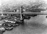 Aerial  Manhattan Bridge 1912 4751