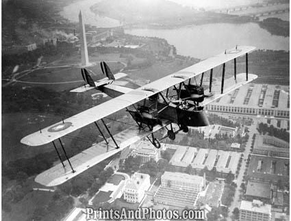Aerial  Early Bomber Over DC 4753