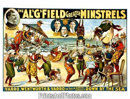 Al. G. Field Greater Minstrels  4758