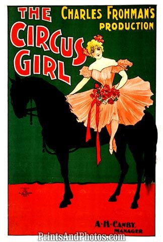 The Circus Girl Stage AD  4791