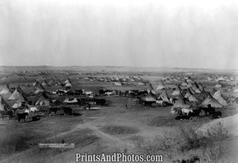 Hostile Indian Camp  4849