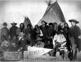 Indian Chiefs & US Officials  4859