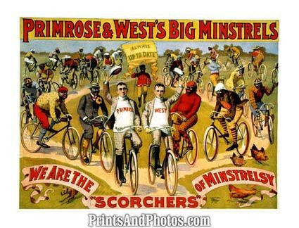 Big Minstrels Stage Ad  4940