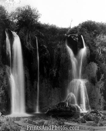 Spearfish Falls Black Hills Dakota  4952