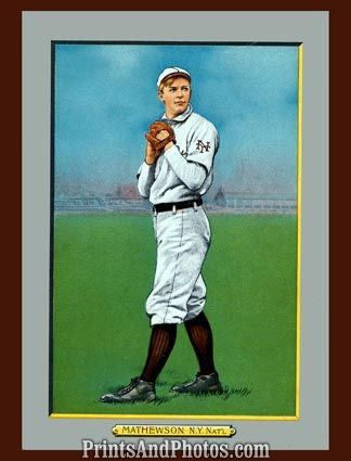Christy Mathewson Cabinet  5023