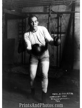 Boxer Jim Jefferies 1909  5048