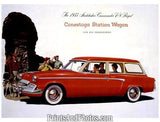 1955 Studebaker Conestoga Wagon  5153 - Prints and Photos