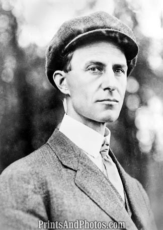 Aviator Wilbur Wright Portrait  5186