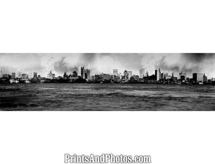 1902 New York City Skyline  5191 - Prints and Photos