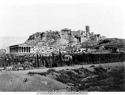 Acropolis Greek Monument  5195
