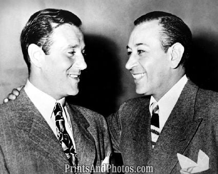 Actor George Raft & Bugsy Siegel  5196